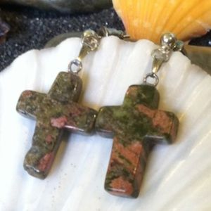 Handmade by Me Jewelry - Cross Earrings