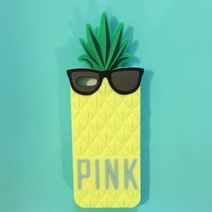Victoria's Secret Accessories - ⬇️Victorias Secret Pink Pineapple iPhone 5 Case