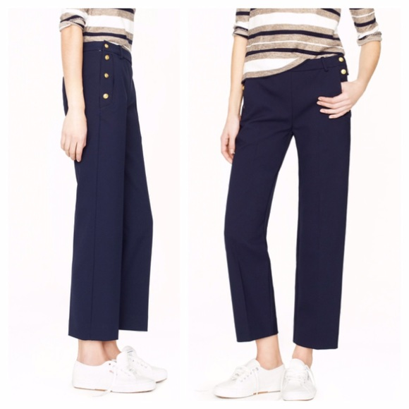 e47e0de33d8 J. Crew Pants - ⚡️SALE J.Crew sailor pants in navy blue