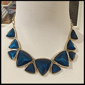 New Statement triangle necklace