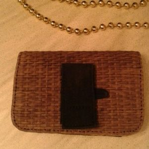 buy popular 2a18f 2a8e5 Wicker cell phone holder belt holder
