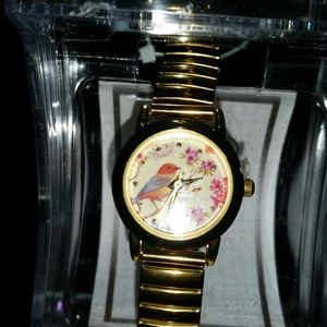 GOLD PLATED BIRD WATCH