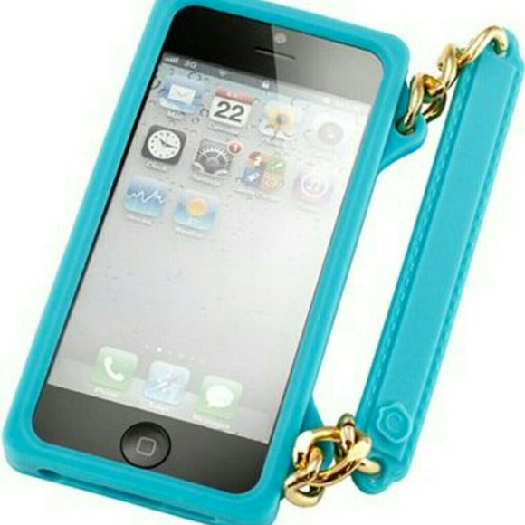 60 off accessories new i phone 5 case with gold chain