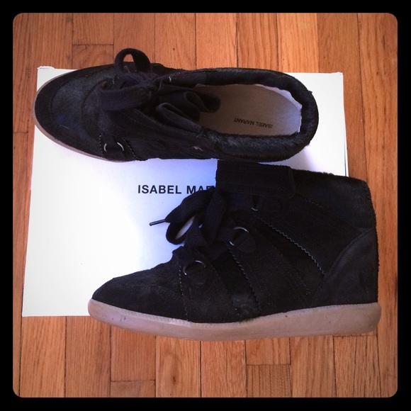 Isabel Marant Blossom Pony Hair Sneaker
