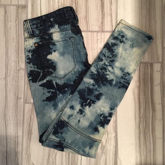 83% off Work custom jeans Denim - NWOT! Tie dye Work custom jeans ...