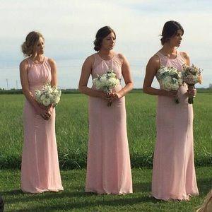 Gorgeous light pink versatile dress