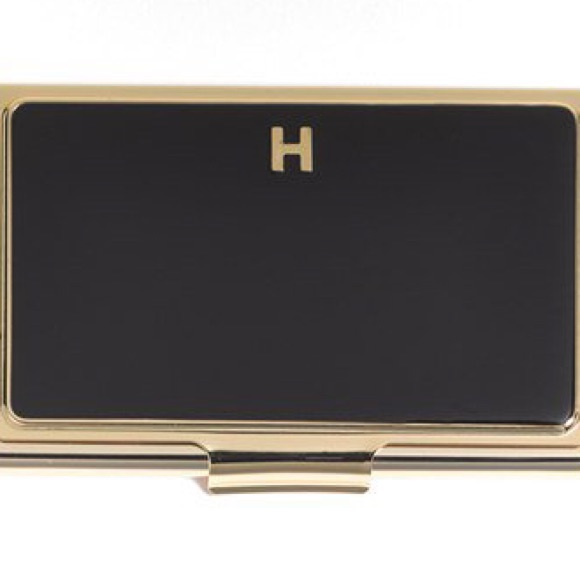 Kate spade accessories monogrammed business card holder poshmark kate spade monogrammed business card holder colourmoves