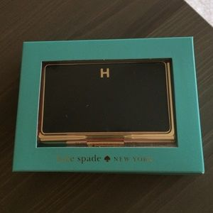 Kate spade accessories monogrammed business card holder poshmark kate spade accessories kate spade monogrammed business card holder colourmoves