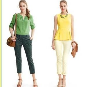 Banana Republic Tops - 🆕LISTING! BANANA REPUBLIC green silk top
