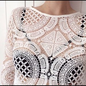 Handmade Crochet/Lace/Hollow Top
