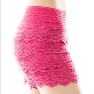 That Glam Girl Boutique Pants & Jumpsuits - Unique lace short