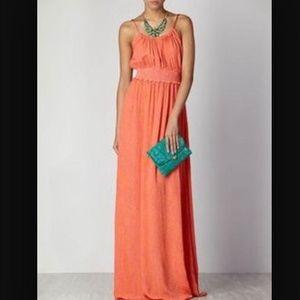 Hoss Intropia Dresses & Skirts - ⚡️HUGE SALE⚡️Hoss Intropia Pink/Orange maxi dress