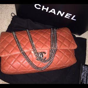 Chanel lambskin flap