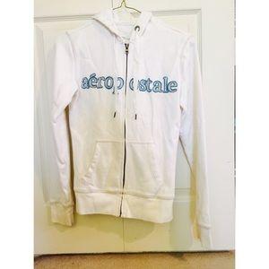 Aeropostale white jacket