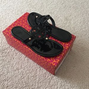 Tory Burch Shoes - SOLD!! Authentic Tory Burch Black Patent Miller