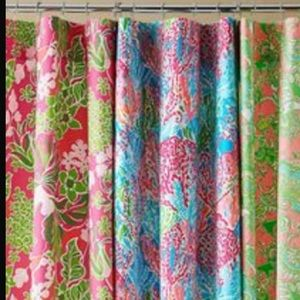 Lilly Pulitzer Accessories   Lilly Pulitzer Shower Curtain