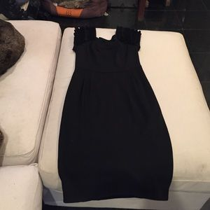 Catherine Malandrino wool shift dress