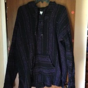 Outerwear - Purple Baja Hoodie