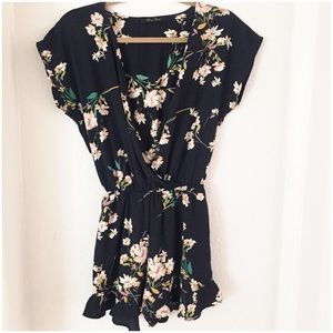 Spring Floral Playsuit.