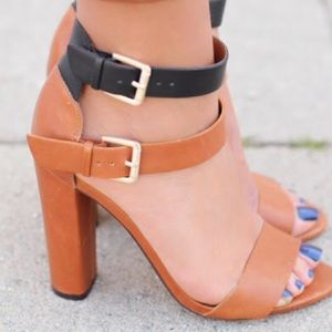 Looking for zara double buckle high heeled sandal