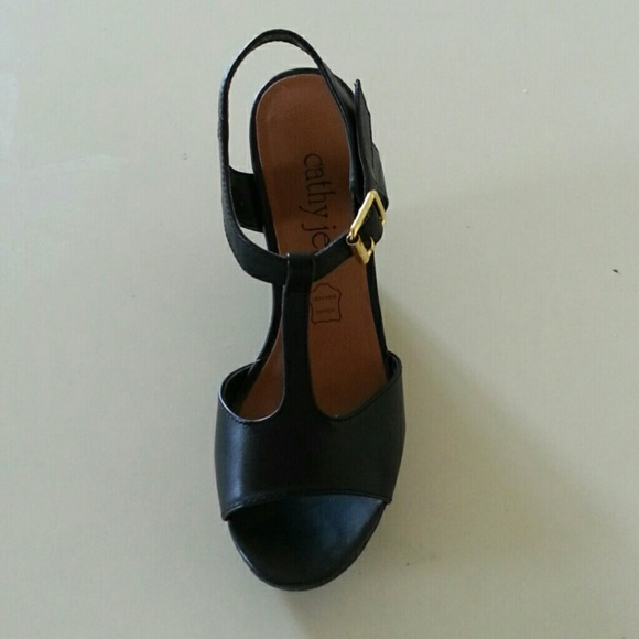 cathy jean wedge shoes from s closet on poshmark