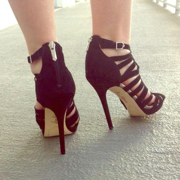 Sam Edelman Shoes   Cco New Black Caged