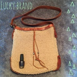 Lucky Brand Tan Crossbody