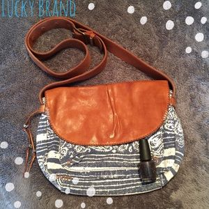 Lucky Brand Pattern Crossbody