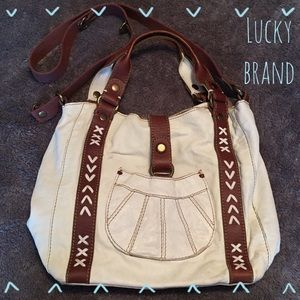 Lucky Brand White Crossbody