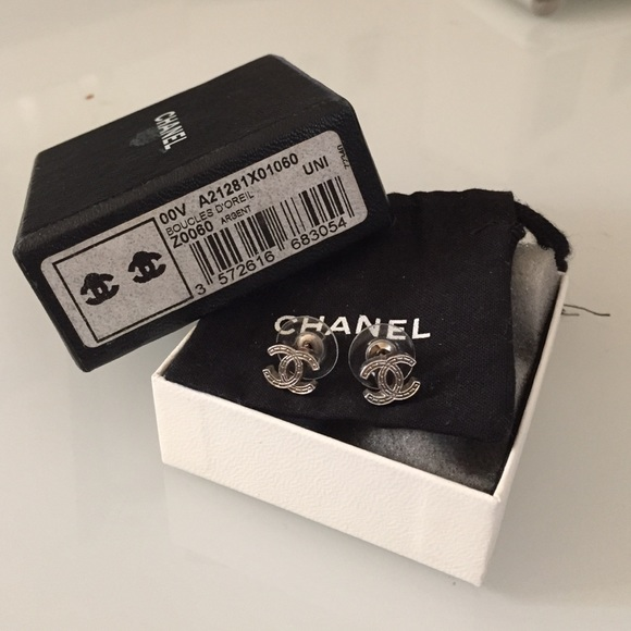 b86722a1c CHANEL Accessories | Authentic Small Cc Earrings | Poshmark
