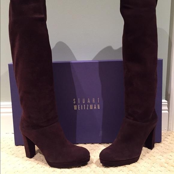 68% off Stuart Weitzman Shoes - Stuart Weitzman Tall Boot ...