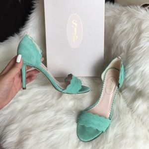 SJP Shoes - $200 SJP Bobbie Mint Heels 36.5
