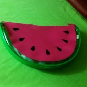 Clinique watermelon makeup case