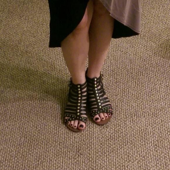 85ed0181f91c Jessica Simpson Shoes - Jessica Simpson black gladiator sandals