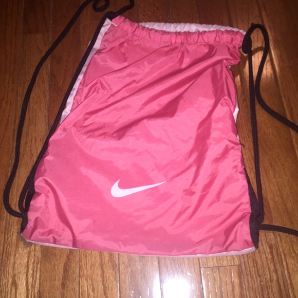 67% off Nike Accessories - Nike Drawstring Bag from Hailey's ...