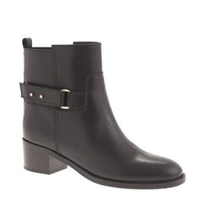 J.Crew Parker Black Ankle Booties