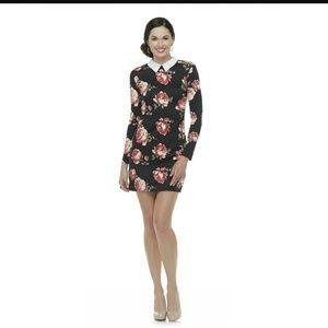mascara Dresses & Skirts - NWT Floral Collar Dress-Medium