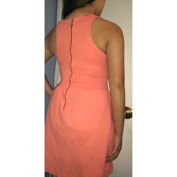 Cynthia Rowley Dresses - Cynthia Rowley Salmon Cocktail Dress