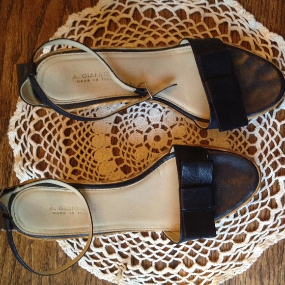 82 Off A Giannetti Shoes A Giannetti Wedge Sandals