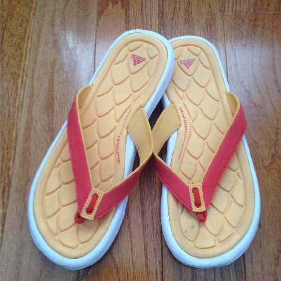 a3d4b057d Adidas Shoes - Adidas women s Ultra Foam flip flops