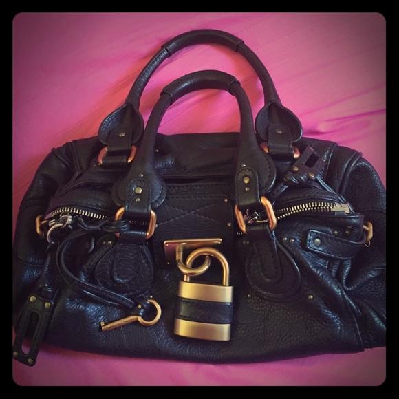 Chloe Handbags - 💯 authentic CHLOE PADDINGTON HANDBAG BLACK COLOR 0f8e1aa3943c5