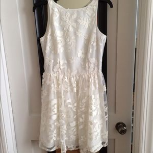 White BB Dakota Dress