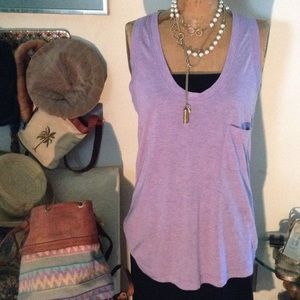 Tunic Racer Back Top