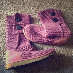 Uggs With Buttons On Side UGG sweater boots on P...