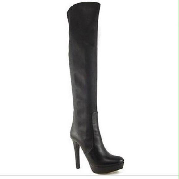 57f8297e8fdc Miu Miu stretch thigh high boots. M 551c1ba3713fde7fe9009a0f