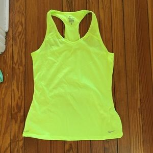 Nike womens racer back workout tank