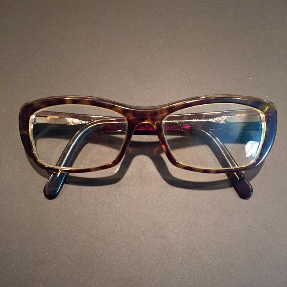 e839b8490c CHANEL Accessories - Chanel Tortoise Shell Frame Eyeglasses Authentic