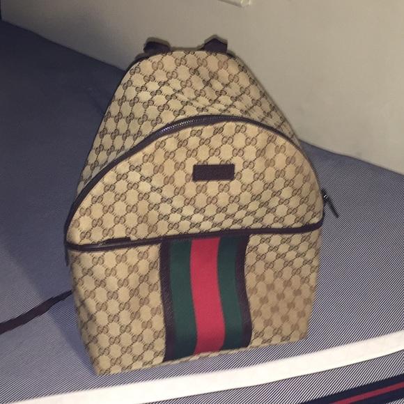 14e28e23ceb Gucci Accessories - Original GG Canvas Backpack