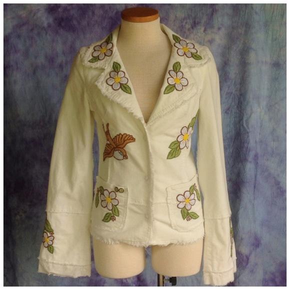 Joystick jackets blazers corduroy embroidered jacket