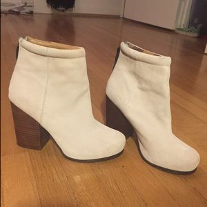 Jeffrey Campbell Suede Rumble Ankle Booties